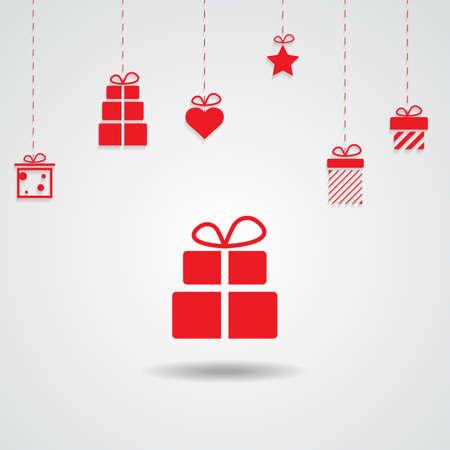 love valentine present,christmas present,giftbox background Imagens