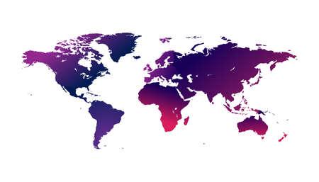 infografía mapa del mundo del país, banderas internacionales del mundo