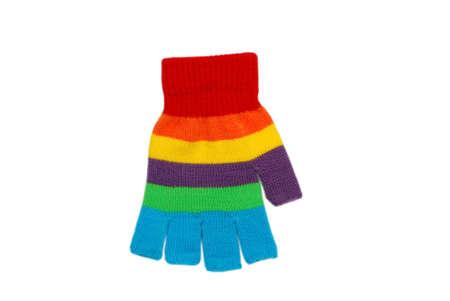 textille: Color textille glove.