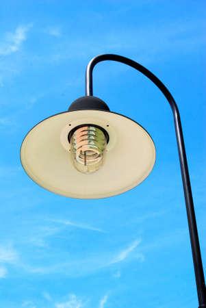 Street lamp in garden. Stock Photo - 8210694