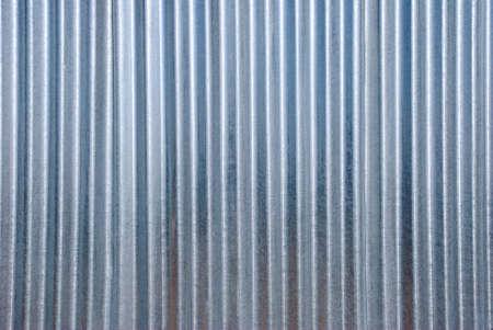 vertical corrugated iron background. photo