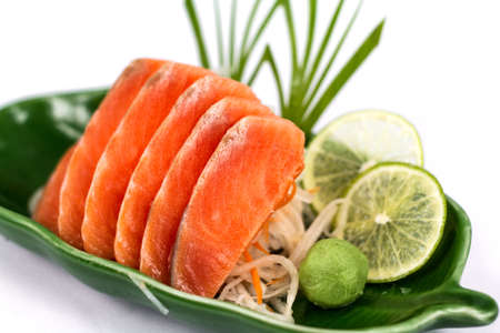 susi: sashime japan food Stock Photo