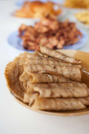 dried banana slices Stock Photo - 15219209
