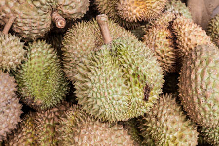 Durian King of the fruit in Thailand photo