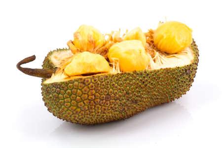 cempedak fruit Thailand in white background