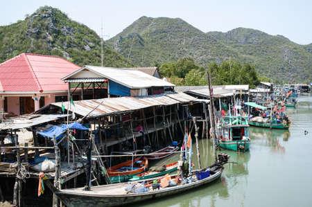 Hua Hin location  City Thailand Stock Photo - 16180344