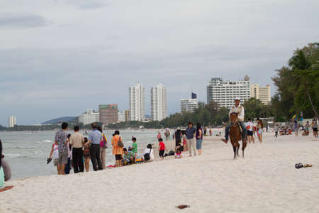 Hua Hin location  City Thailand Stock Photo - 16180345