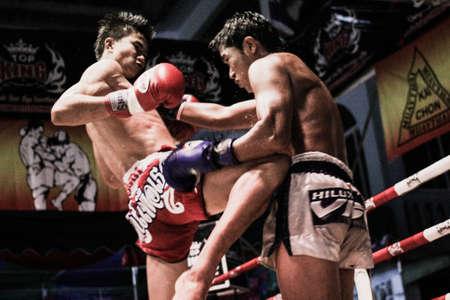 muay: Thai boxing in Thailand