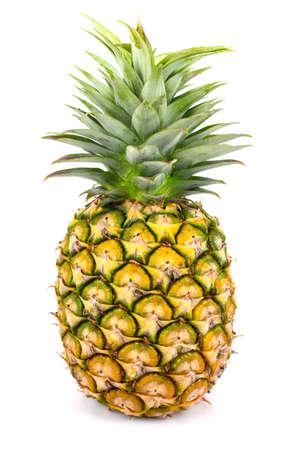 Fresh  pineapple on white background Standard-Bild