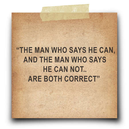 confucius: Inspirational quote by Confucius on old paper short note  background