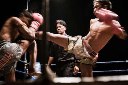Thai boxing in Thailand