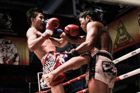 Thai boxing in Thailand