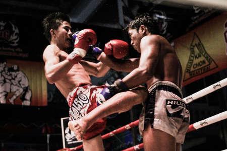thai arts: Thai boxing in Thailand