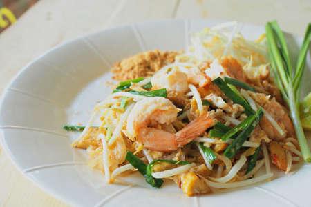 Thai style noodles photo
