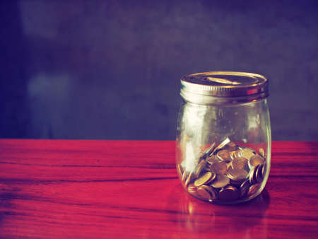 coin in the bottle photo