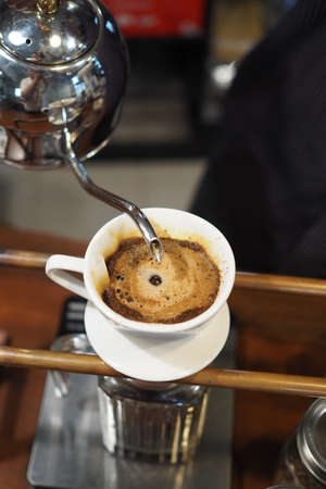 brew: Drip Brew Coffee Caffeine Filter Stock Photo