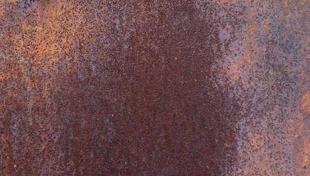 Industrial rusty metal background texture with flaking. Foto de archivo