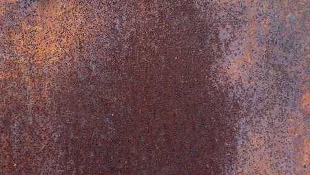 Industrial rusty metal background texture with flaking. Stock Photo