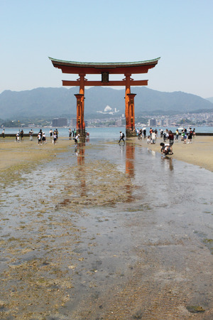 torii: Itsukushima torii Miyajima