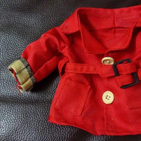 overcoat: Doll overcoat