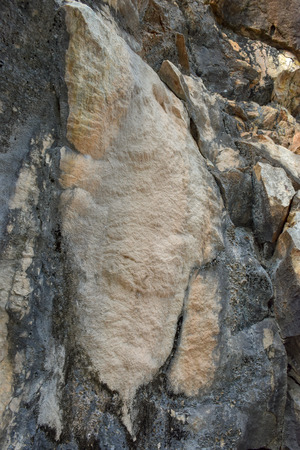 Old Stone mountain texture background