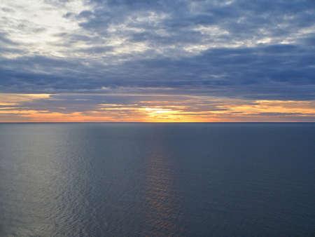 Sunrise at Cha Am Beach in Thailand