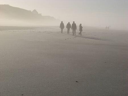 Nebelgestalten Stock Photo