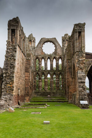 Elgin Cathedral, a medieval ruin in Scotland