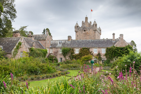 Famous Scottish Cawdor Castle, known from Shakespeare's tragedy Macbeth Editorial