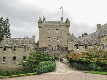 Famous Scottish Cawdor Castle, known from Shakespeare's tragedy Macbeth Redactioneel