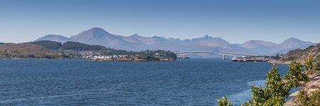 kyle: Famous Kyle of Lochalsh bridge leading over from Scottish main land to rhe Isle of Skye