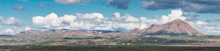 spectacular: Spectacular volcanic landscape around Lake Myvatn, Iceland