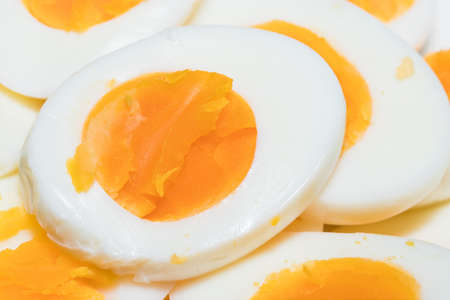 Eggs that are cooked for health.