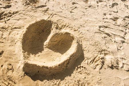 A wonen is enjoying at the beach.