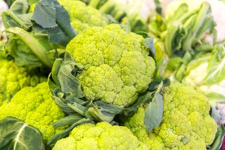 cauliflower in market