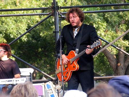 Austin, USA - September 26, 2008 - BOBBY BARE Jr  at Austin City Limits Music Festival