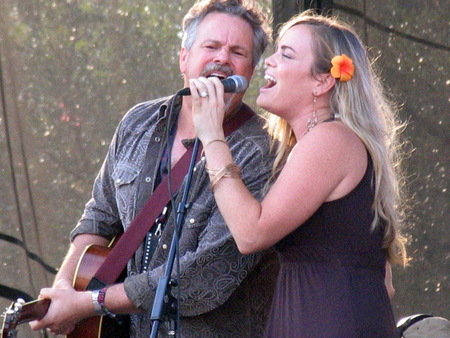 earl: Austin, USA - September 27, 2008 - ROBERT EARL KEEN and BONNIE BISHOP at Austin City Limits Music Festival Editorial