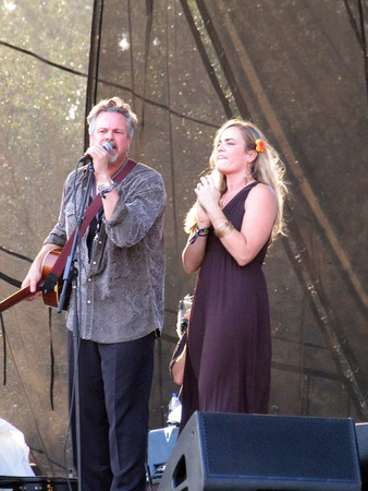 keen: Austin, USA - September 27, 2008 - ROBERT EARL KEEN and BONNIE BISHOP at Austin City Limits Music Festival Editorial