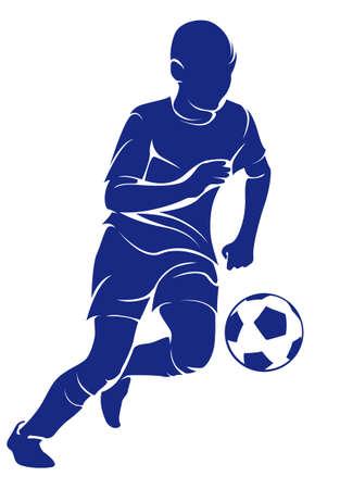 Boy footballer
