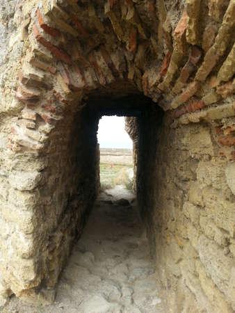 semicircular: Semicircular arch leading to Akkerman fortress outer wall