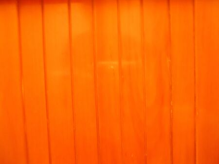 reflective: Wall wooden orange reflective vertical stripes