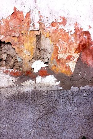 broken wall texture background for graffiti street art