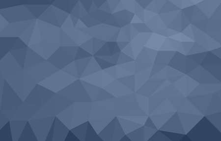 monochromatic: monochromatic blue abstract low poly background made of triangles Stock Photo