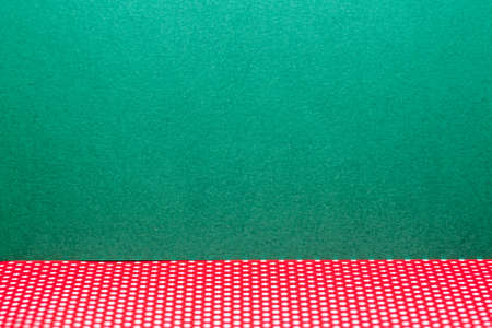 free background: green and red craft background with much free space