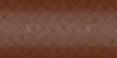 brown background: abstract brown polygonal background