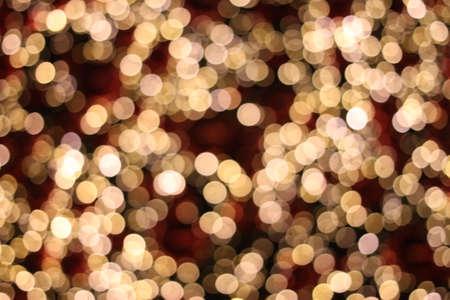 festive background bokeh bright lights christmass decoration Stock Photo