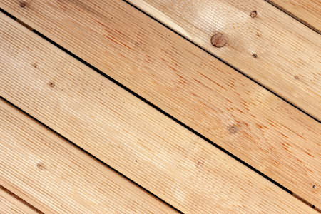 wooden terrace made of Siberian larch background