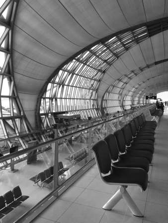 seating area: Seating area in Bangkok airport