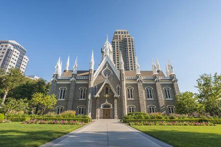 The Assembly Hall in Salt Lake City, Utah,usa.