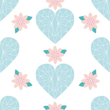 Lucky Symbols Collection Background Seamless Pattern Number 14